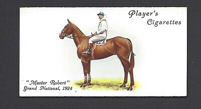 Player - Derby And Grand National Winners - #42 Master Robert