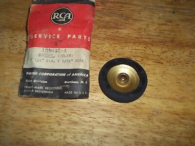 "RCA Record Changer /Turntable Idler Wheel RCA # 101492-A,1-1/2"" Bore 3/16"" Dia."