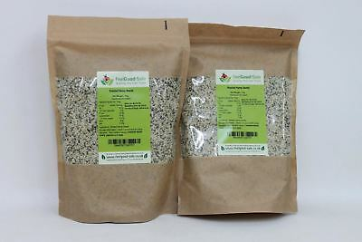 2 x NEW FEEL GOOD-SALE Organic Shelled Hemp Seeds Natural Hulled Protein 1Kg
