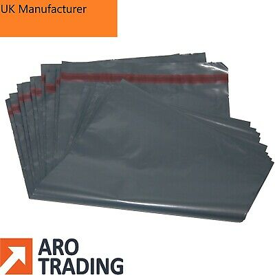"Cheap Grey Mailing Bags 4"" x 6"" and Other Sizes Postal Bags Made In UK"