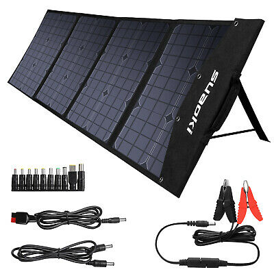 Neu 100W Foldable Solar Panel Solar Charger MPPT / TIR-C / PD Type-C / DC / USB