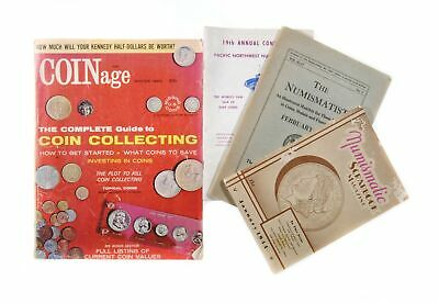 Lot of 4 Old Vintage Numismatic Coin Collector Publications #125394 X