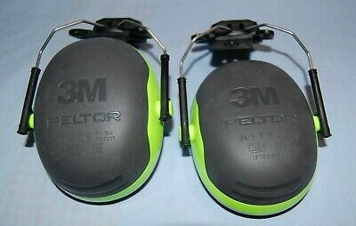 3M X4P3 Peltor Ear Defender Muff Helmet Attachment