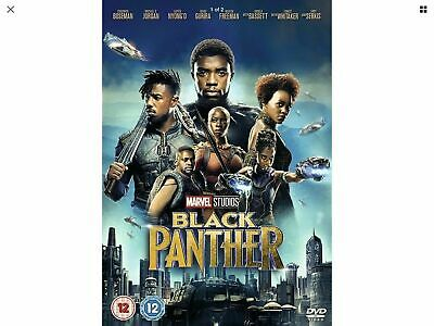 Black Panther (DVD, 2018) New
