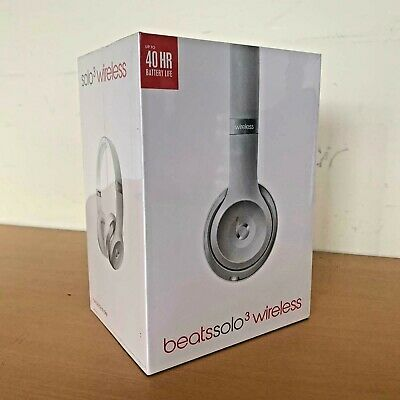 BRAND NEW Beats by Dre Solo 3 On-Ear Wireless Bluetooth Headphones *NEW SEALED*
