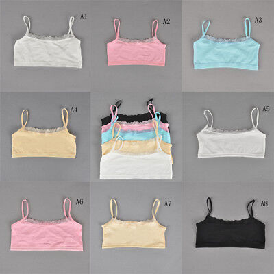 Teenage Underwear For Girls Cutton Lace Young Training Bra For Kids Clothing S&K