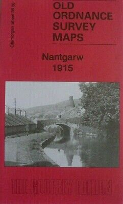 OLD ORDNANCE SURVEY MAPS NANTGARW GLAMORGAN 1915  Godfrey Edition Special Offer