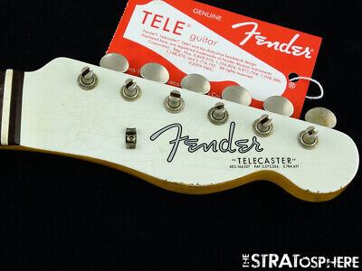USA Fender Custom Shop 2019 NAMM '63 Telecaster Relic NECK+ TUNERS Tele Rosewood