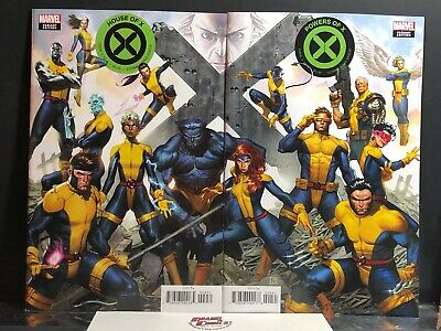 House & Powers Of X #4 Jorge Molina Connecting Variant 2 Cover Set Hickman NM