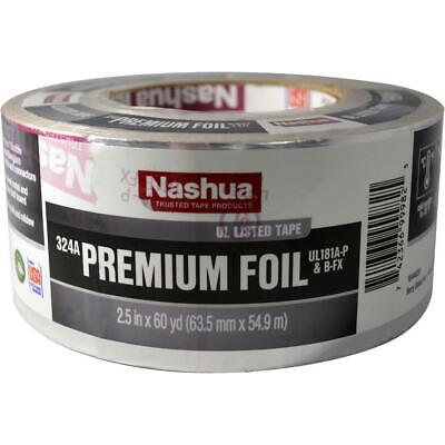"Nashua 2.5"" x 60 yards 324A Premium Foil UL Listed HVAC Tape Heavy Duty"