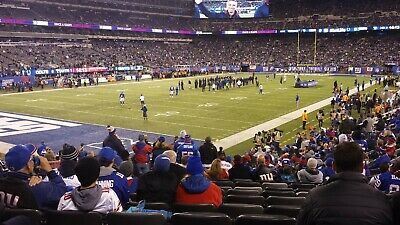 4 Tickets New York GIANTS vs. Dallas Cowboys Section 146 Row 20