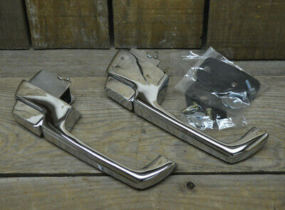Pair 1967-72 Chevy Gmc Pickup Truck Outside Door Handles Resto Mod Hot Rod Vtg