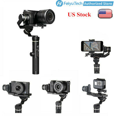Feiyu G6 Plus 3-Axis Handheld Gimbal Stabilizer for Cellphone,DSLR/Action Camera