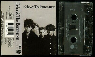 Echo & The Bunnymen self titled 1987 USA Cassette Tape s/t same
