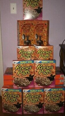 Travis scott x reeses puffs cereal (Bulk 20 Boxes)