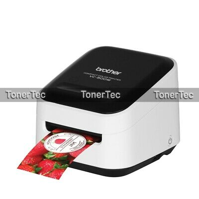 Brother VC-500W Wireless Color Thermal Label Printer+AirPrint Labeller