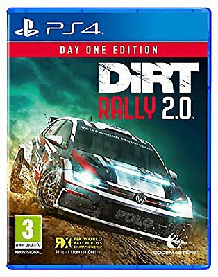DiRT Rally 2.0 Sony Playstation PS4 Game 3+ Years