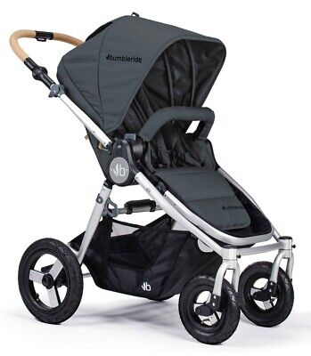 Bumbleride Era Compact Infant Compatible Reversible Seat Stroller Dawn Grey NEW