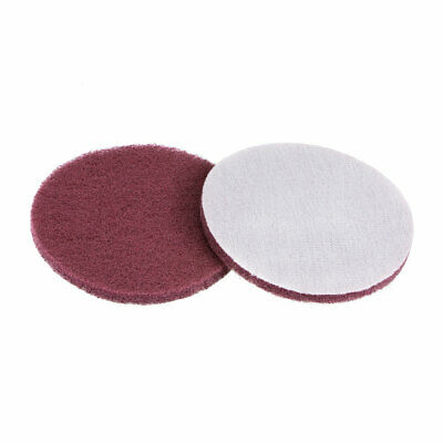 5 Inch 400 Grit Drill Power Brush Tile Scrubber Scouring Pads Cleaning Tool 2pcs