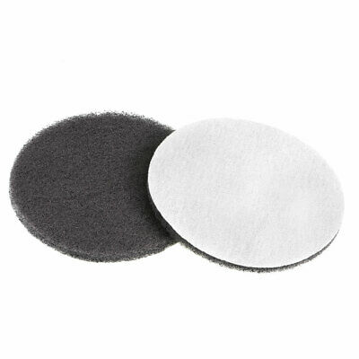 5Inch 1500 Grit Drill Power Brush Tile Scrubber Scouring Pads Cleaning Tool 2pcs
