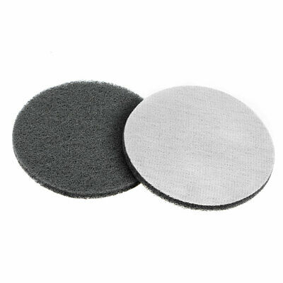5 Inch 800 Grit Drill Power Brush Tile Scrubber Scouring Pads Cleaning Tool 2pcs