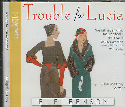 E.F.Benson  TROUBLE FOR LUCIA   3cds