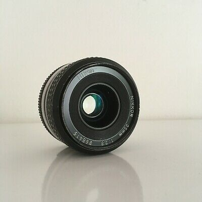 Nikon Nikkor 35mm f2.8 Ai manual lens good condition clean