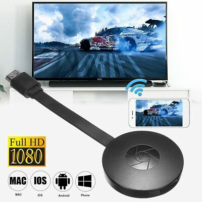 Chromecast 4th Generation 1080P HD HDMI Wifi Media Video Digital Streamer