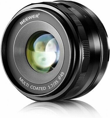 35mm F/1.7 Large Aperture Manual Prime Fixed Lens Aps-c  Neewer  for Sony Emount