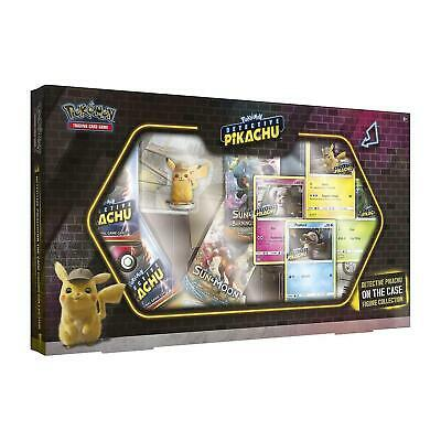 Pokemon Detective Pikachu On the Case Figure Collection ENGLISCH Booster Karten