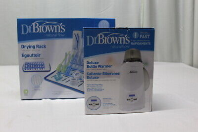 Dr. Brown's Deluxe Bottle Warmer & Drying Rack