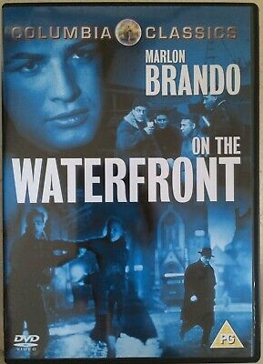 On The Waterfront DVD 1954 Clásico Película de Cine con Marlon Brando
