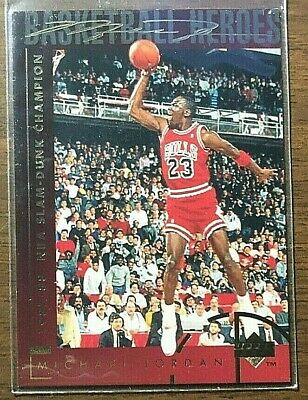 Michael Jordan Bulls 1994 Upper Deck 87-88 Slam Dunk Champion #39