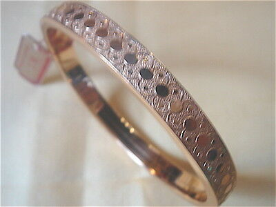Very Beautiful Bracelet Gold Plated Vintage 1950 New/Old New Gold Plated Bangle