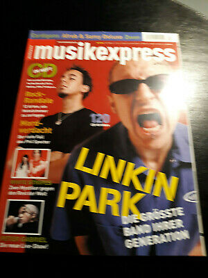 Musik Express 4/2003 Linkin Park,Peter Gabriel,White Stripes,Cardigans,Can