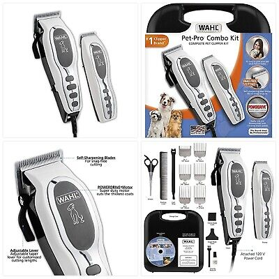 Wahl Pet-Pro Clipper & Trimmer Pet Grooming Combo Kit for Dogs and Cats: Comes w