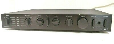 AUDIOLAB 8000C Pre-Amplifier with Phono MM / MC Stage - Good condition