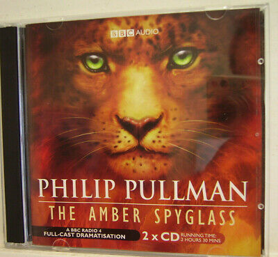 PHILIP PULLMAN -  The Amber Spyglass - BBC Audio Drama - (X 2 CD) **NR.MINT**