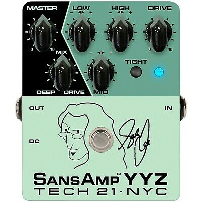 Tech 21 GED-2112 Geddy Lee Signature SansAmp YYZ Bass Pedal