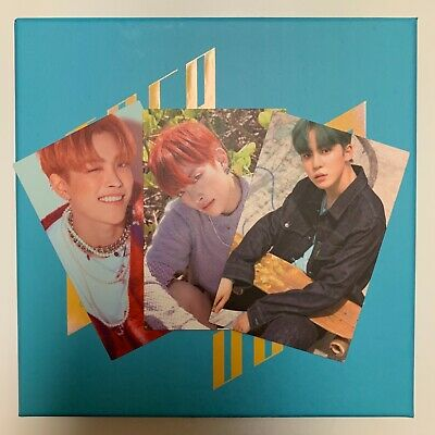 ATEEZ:TREASURE EP.3 Album (Wave ver)+Hongjoong Illusion & Wave MMT+Yunho Wave pc