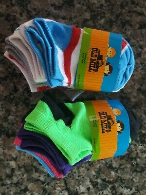Kid's unisex solid socks pack of 6 lot of 2 brand new Old Mill Brand