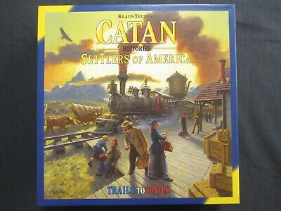OEJ ~ Catan Histories ~ Settlers of America ~ Trails to Rails ~ Board Game