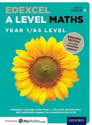 Edexcel A Level Maths: Bridging Edition: Year 1 / AS Level Student Book PDF Only