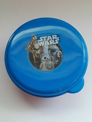 Starwars Children's Plastic Plate, Bowl and Cups Set Of 4 Pieces Brand New