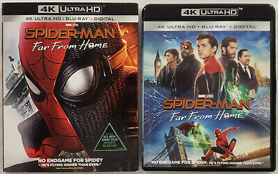SPIDER-MAN: FAR FROM HOME (2019) 4K Ultra HD Blu-ray 2-Disc Set w/ Slipcover