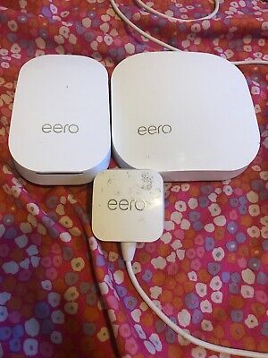 eero  M010201 2nd Generation  Mesh WiFi System - White