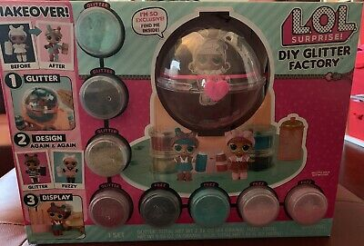 1 LOL Surprise DIY GLITTER FACTORY Doll Pet Series 5 6 Makeover Babe Sparkle NIB