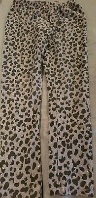 Grey Black And Silver Animal Print Leggings [The Children's Place] Size: 7/8