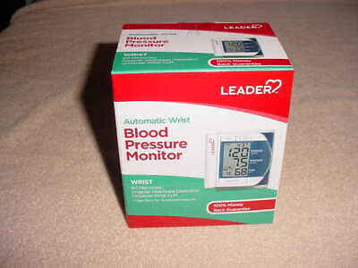 LEADER Deluxe Automatic Wrist Blood Pressure Monitor # BP3MK1-2   (NISB)