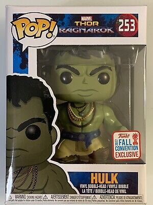 Sold Out Funko Pop Hulk 2017 Nyccc Fall Convention Marvel Thor Ragnarok Stan Lee